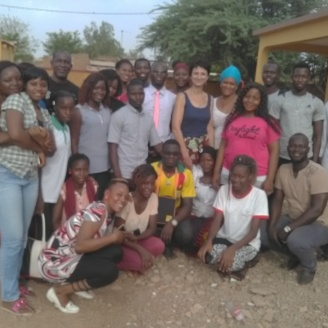 fin de stage à Ouagadougou